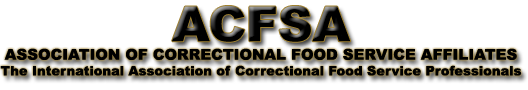 ACFSA | Association of Correctional Food Service Affiliates